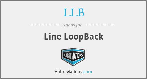 LLB - Line LoopBack