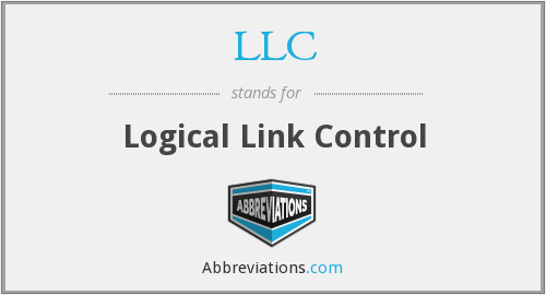 LLC - Logical Link Control