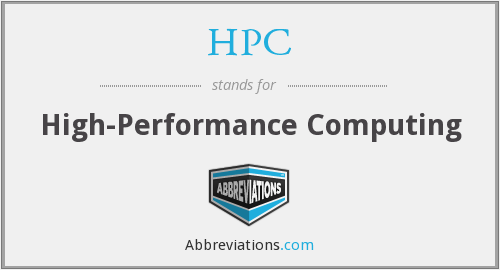 HPC - High-Performance Computing