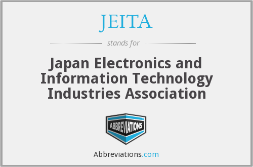 What does JEITA stand for?