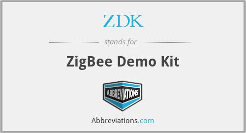 ZDK - ZigBee Demo Kit