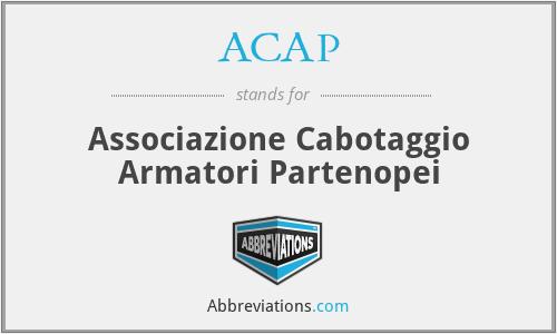 ACAP - Associazione Cabotaggio Armatori Partenopei