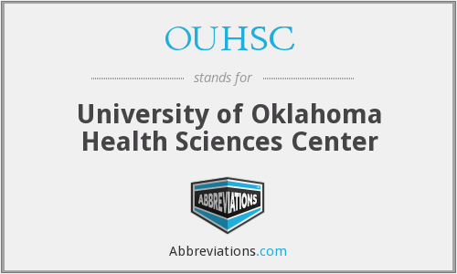 What does OUHSC stand for?