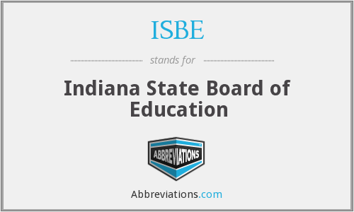 ISBE - Indiana State Board of Education