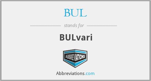 BUL - BULvari
