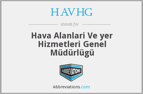 What does HAVHG stand for?