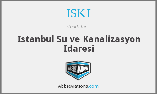 What does ISKI stand for?