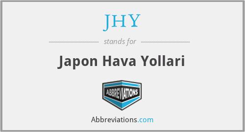JHY - Japon Hava Yollari