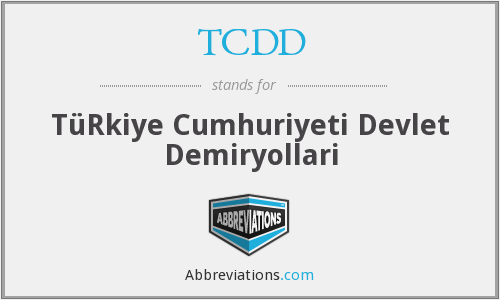 What does TCDD stand for?