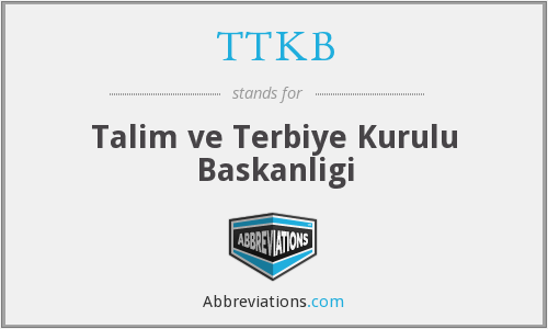 What does TTKB stand for?