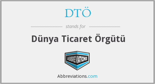 What does DTO stand for?