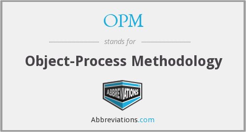 OPM - Object-Process Methodology