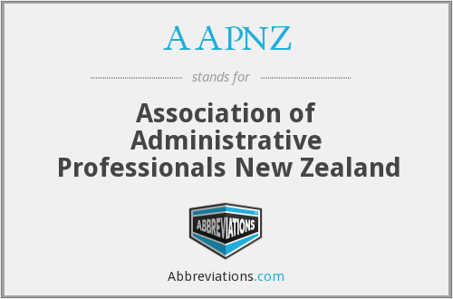 AAPNZ - Association of Administrative Professionals New Zealand