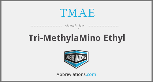 What does TMAE stand for?