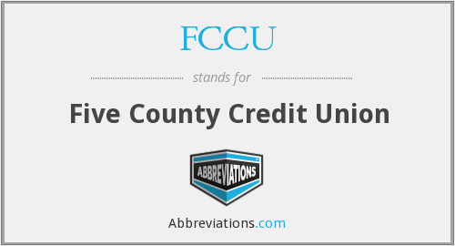 FCCU - Five County Credit Union