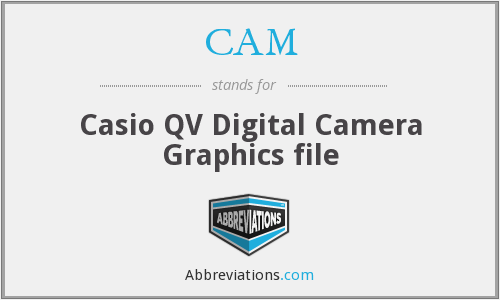 CAM - Casio QV Digital Camera Graphics file