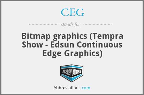 CEG - Bitmap graphics (Tempra Show - Edsun Continuous Edge Graphics)