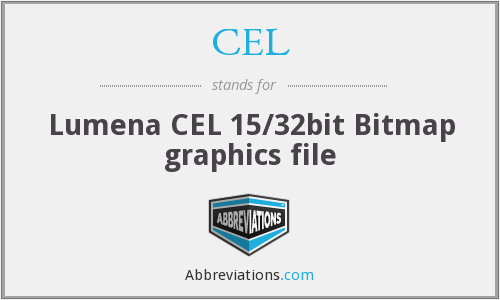 CEL - Lumena CEL 15/32bit Bitmap graphics file