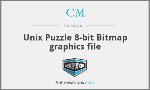 CM - Unix Puzzle 8-bit Bitmap graphics file