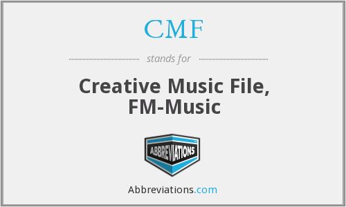 CMF - Creative Music File, FM-Music