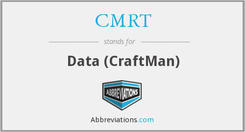 What does CMRT stand for?