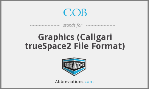 COB - Graphics (Caligari trueSpace2 File Format)