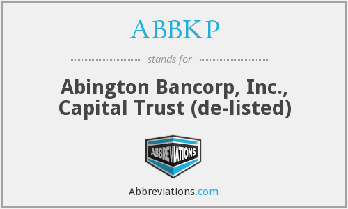 What does ABBKP stand for?