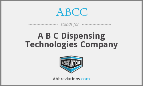 ABCC - A B C Dispensing Technologies Company
