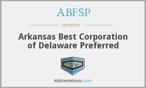 What does ABFSP stand for?