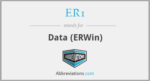 ER1 - Data (ERWin)