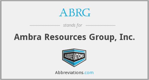 ABRG - Ambra Resources Group, Inc.