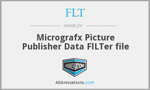 FLT - Micrografx Picture Publisher Data FlLTer file