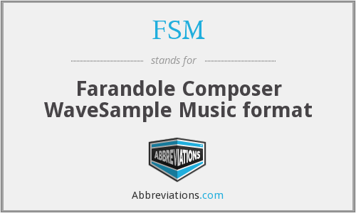 FSM - Farandole Composer WaveSample Music format