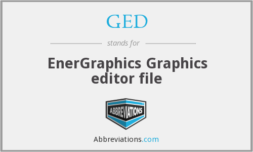 GED - EnerGraphics Graphics editor file