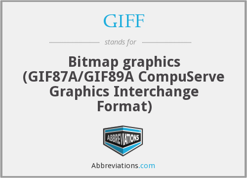 What does GIFF stand for?