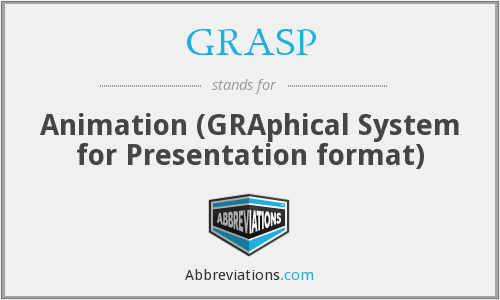 GRASP - Animation (GRAphical System for Presentation format)