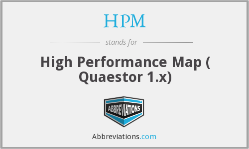 HPM - High Performance Map ( Quaestor 1.x)
