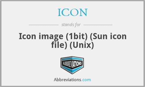 ICON - Icon image (1bit) (Sun icon file) (Unix)