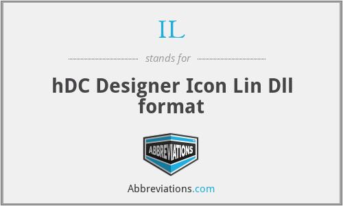 IL - hDC Designer Icon Lin Dll format