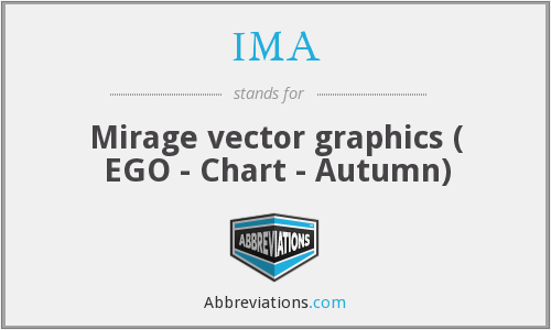 IMA - Mirage vector graphics ( EGO - Chart - Autumn)