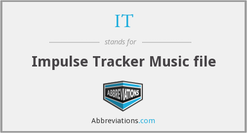 IT - Impulse Tracker Music file