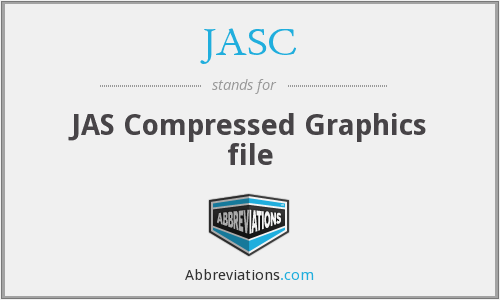 JASC - JAS Compressed Graphics file