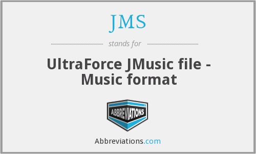 JMS - UltraForce JMusic file - Music format