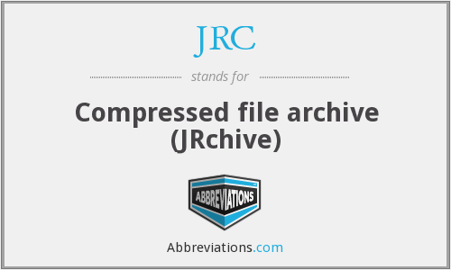 JRC - Compressed file archive (JRchive)