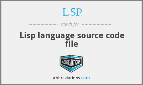 LSP - Lisp language source code file