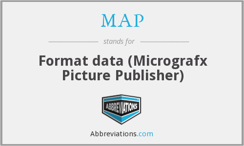 MAP - Format data (Micrografx Picture Publisher)