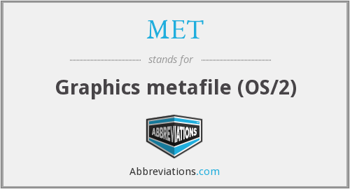 MET - Graphics metafile (OS/2)