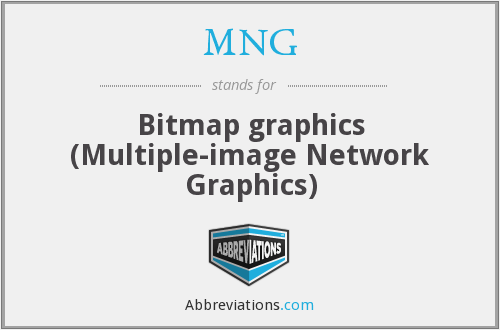 MNG - Bitmap graphics (Multiple-image Network Graphics)