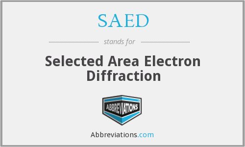 What does SAED stand for?