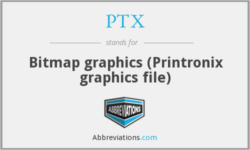 PTX - Bitmap graphics (Printronix graphics file)